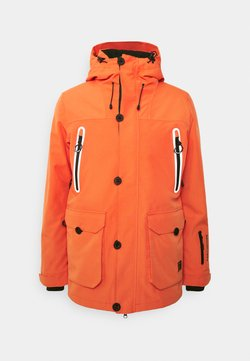 Superdry - FREESTYLE JACKET - Veste de ski - havana orange