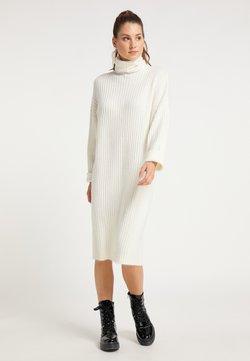 myMo - Vestido de punto - weiß