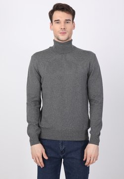 Basics and More - Strickpullover - antracite