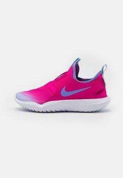 Nike Performance - FLEX RUNNER UNISEX - Zapatillas de running neutras - pink foam/metallic silver/light smoke grey