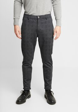 Shine Original - CHECKED PANTS - Chinot - black