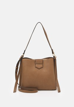 Lindex - BAG OFELIA TOTE - Across body bag - light brown