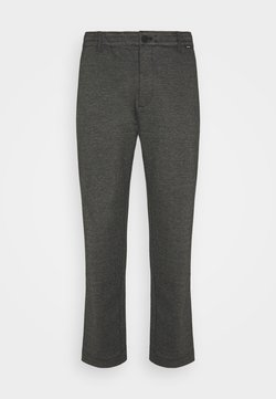 Calvin Klein Tailored - COMFORT HOUNDSTOOTH PANT - Stoffhose - drak grey
