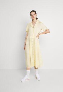 Monki - Maxikleid - yellow dusty light