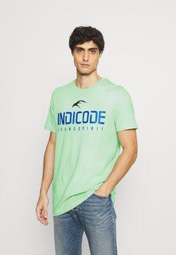 INDICODE JEANS - ECKRICH - T-shirt z nadrukiem - pastel green