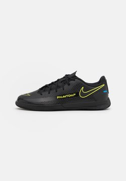Nike Performance - PHANTOM GT CLUB IC UNISEX - Chaussures de foot en salle - black/cyber/light photo blue