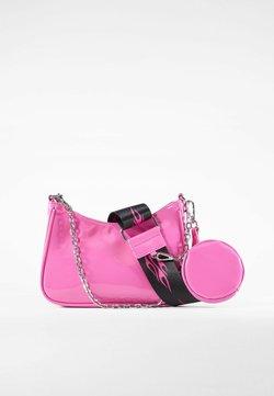 Bershka - Handtasche - neon pink