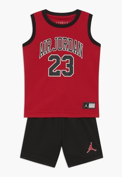Jordan - MUSCLE SET - Korte broeken - black