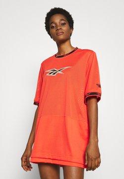 Reebok Classic - DRESS - Day dress - vivid orange