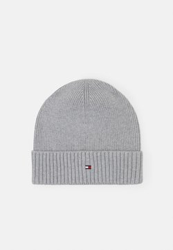 Tommy Hilfiger - PIMA COTTON BEANIE - Pipo - grey