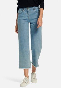 PETER HAHN - Jeans a zampa - bleached denim
