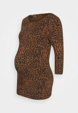 Supermom - LEOPARD - Langarmshirt - light brown