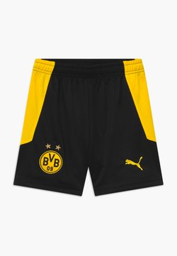 Puma - BVB BORUSSIA DORTMUND REPLICA - kurze Sporthose - black/cyber yellow