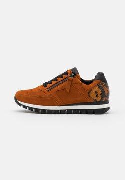 Gabor Comfort - Sneaker low - rost/curry/schwarz