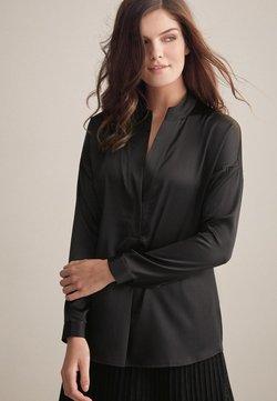 Falconeri - MIT KLEINEM STEHKRAGEN - Bluse - black