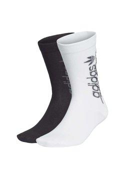 adidas Originals - R.Y.V. THIN CREW SOCKS 2 PAIRS - Calze sportive - white
