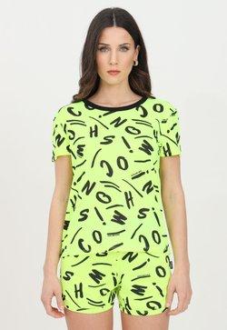 MOSCHINO - T-shirt con stampa - giallo