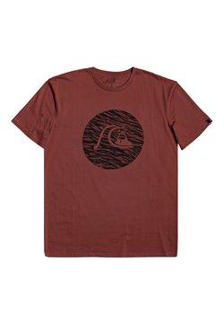 Quiksilver - JUNGLE BUBBLE  - T-shirt print - henna