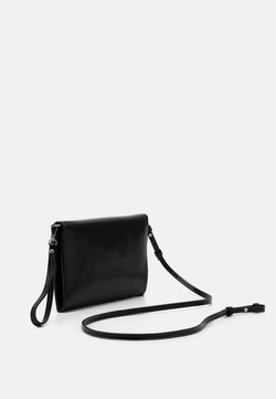 PARFOIS - ENVELOPE BAG HYENA - Pikkulaukku - jet black