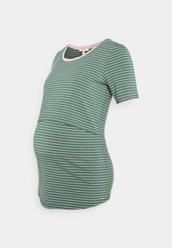 Esprit Maternity - NURSING - T-Shirt print - vinyard green