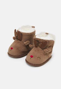 OVS - BOOTS - Krabbelschuh - carob brown