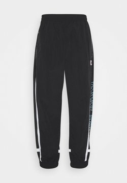 Karl Kani - RETRO BLOCK TRACK PANTS - Jogginghose - black