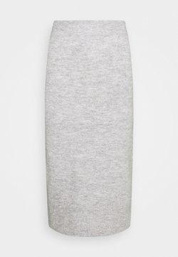 ONLY - ONLCILLE SKIRT  - Kynähame - light grey melange