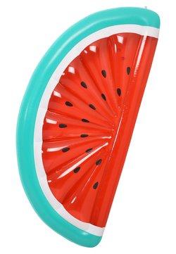 Sunnylife - SUNNYLIFE LIE ON FLOAT AUFBLASBARE LUFTMATRATZE - Accessoire de plage - red/green