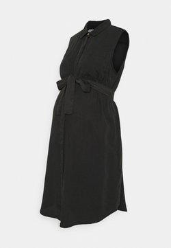 MAMALICIOUS - MLMADDIE LIA WOVEN DRESS - Blusenkleid - black