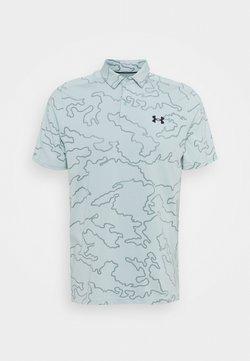 Under Armour - VANISH CAMO - Sports shirt - enamel blue
