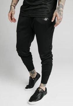 SIKSILK - SIKSILK TRANQUIL DUAL CUFF PANT - Jogginghose - black