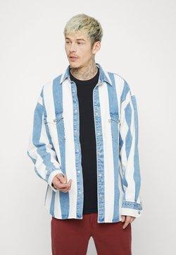 Levi's® - BARSTOW WESTERN UNISEX - Camisa - blue denim/white