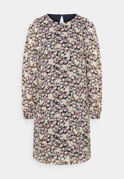 Marc O'Polo - DRESS EASY SHORT STYLE ROUND NECK - Freizeitkleid - multi