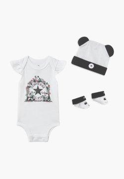 Converse - PANDAMONIUM INFANT SET - Geboortegeschenk - white