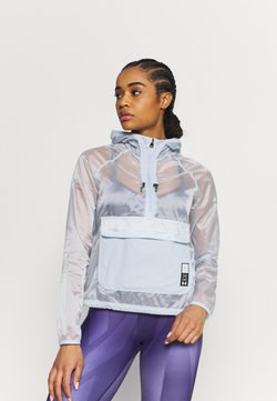 Under Armour - RUN ANYWHERE ANORAK - Chaqueta de deporte - isotope blue