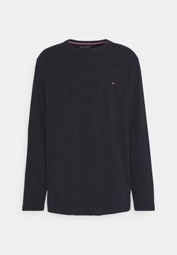 Tommy Hilfiger - STRETCH TEE - T-shirt à manches longues - desert sky