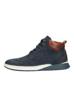 Manfield - Sneaker high - blau