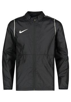 Nike Performance - PARK 20 REPEL REGENJACKE KINDER - Trainingsjacke - schwarz / weiss (910)