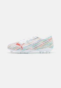 Puma - ULTRA 2.2 FG/AG JR UNISEX - Chaussures de foot à crampons - white/red blast
