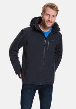 Jeff Green - BERGEN - Snowboardjas - black
