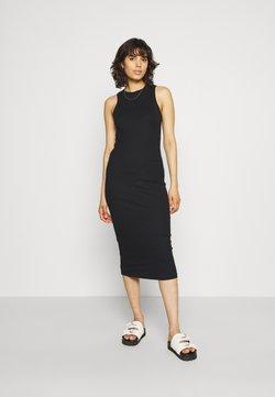 Vero Moda - VMLAVENDER CALF DRESS - Etuikjoler - black