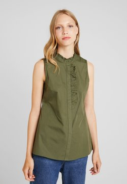 KIOMI - Camicia - olive night