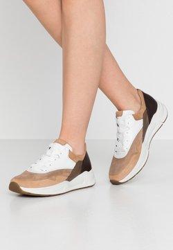 Gabor Comfort - Sneakers laag - caramel/weiß/kupfer