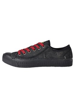 G-Star - ROVULC 50 YEARS DENIM LOW - Sneaker low - black