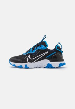Nike Sportswear - REACT VISION GS UNISEX - Baskets basses - black/white/midnight navy/photo blue