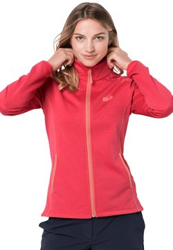 Jack Wolfskin - HORIZON - Fleecejacke - tulip red