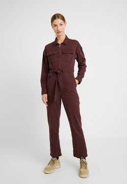BDG Urban Outfitters - EASY UTILITY - Jumpsuit - plum