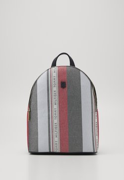 Tommy Hilfiger - BINDING BACKPACK CORP  - Reppu - blue