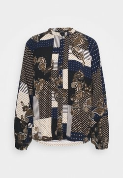 Vero Moda - VMHILDA SHIRT  - Camicia - navy blazer