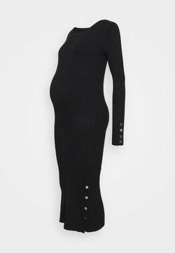 MAMALICIOUS - MLLITZY MIDI DRESS - Sukienka etui - black
